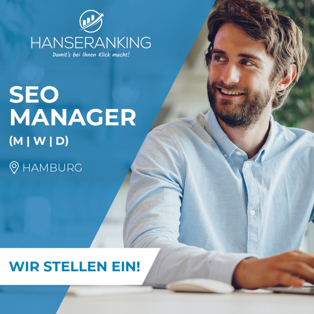 SEO Manager Job Hanseranking